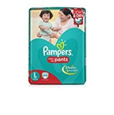 Buy Pampers Large Size Diaper Pants (68 Count) from Amazon