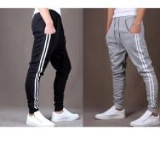 Get 58% off on To Youth Pack of 2 Grey & Black Stylish Sports Track Pant for Men