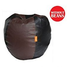 Orka XXL Bean Bag Cover - Brown and Black for Rs. 599