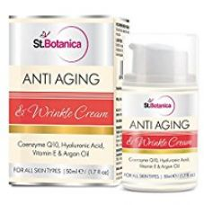 St.Botanica Anti Aging & Anti Wrinkle Cream With Co-Q10, Hyaluronic acid, Vitamin E & Argan Oil - 50ml for Rs. 849