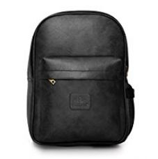 The Clownfish Elite 21 Ltrs Series Black Laptop Bag Travel Backpack School Bag for Rs. 1,199
