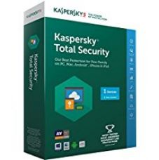 Kaspersky Total Security - 1 User, 1 Year (CD) for Rs. 739