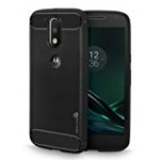 Buy Moto G4 Plus Cover, REALIKE™ {Imported} Schockproof Rugged Premium Style Back Case For Moto G4 Plus - Moto G4 (Diamond Series) (Black) from Amazon