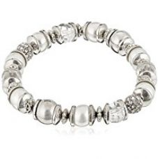 Accessorize Strand Bracelet for Women (Crystal) (MN-18423108001) for Rs. 672