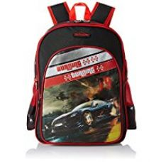 Buy Simba 18 inches Black and Red Children's Backpack (BTS-2038) from Amazon