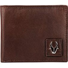 WildHorn Brown Genuine Men's Leather Wallet for Rs. 390