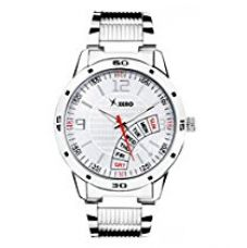 Buy Xeno Analogue White Dial Men Watch (ZD0009) from Amazon