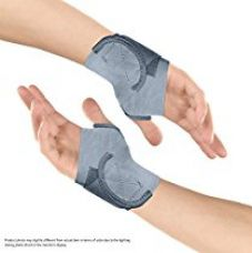 Buy Healthgenie 14674 Wrist Brace with Thumb Support One Size Fits Most - 1 Pair (Grey) from Amazon