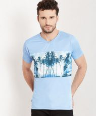 Yepme Wendell  Graphic Tee - Blue for Rs. 999