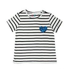 Buy Sofie & Sam London, Kids Girls Tee T - Shirt Top , Blue Stripes from Amazon