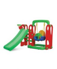 Buy Playgro Toys Super Slide With Swing Red & Green - for Rs. 6600