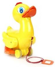 Buy Ratnas Quacking Duck Pull Along Toy - Yellow for Rs. 272
