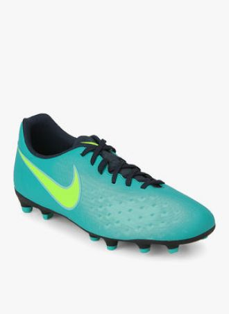 Buy Nike Magista Ola Ii Fg Aqua Blue Football Shoes from Jabong
