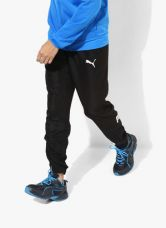 Get 43% off on Puma Ess No.1 Black Track Pants
