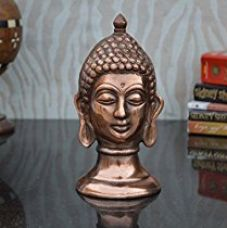 Buy eCraftIndia Metal Lord Buddha Showpiece from Amazon