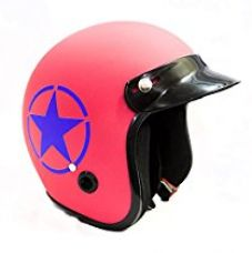 Autofy Trust Front Open Helmet (Pink, M) for Rs. 630