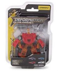 Karma Deformation Diecast Car Cum Robot - Red Brown for Rs. 284