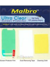 Malbro Ultra Clear Screen Protector (Platinum Seri for Rs. 275