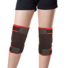Healthgenie Adjustable Knee Support (One Pair), Free Size Fits Most (Black) | Elastic and Durable Neoprene | Reduces Risk of Injury & Joint Pain for Rs. 499