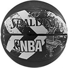 Buy Spalding 2015 Alley-OOP Basketball Size-7 (Black) from Amazon