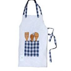 HomeStrap 100% cotton Smart Apron with front pocket for Rs. 329