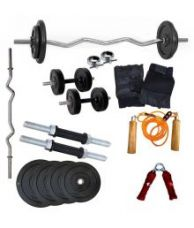 Buy Wolphy 40kg Home Gym Set from SnapDeal
