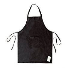 HomeStrap Polyester Water Resistant Men/Women Apron - 1 Pc - Black for Rs. 249