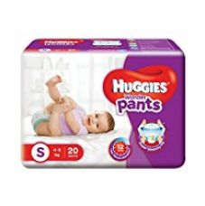 Huggies Wonder Pants Small Diapers (20 Count) for Rs. 201
