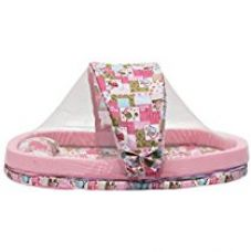 Amardeep and Co XXL Mattress with Mosquito Net and Bumper Guard Animal (Pink) - mt-06pinkanimal for Rs. 1,790