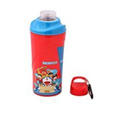 Doraemon Big Insulated Plastic Sipper Bottle, 450ml, Red/Yellow for Rs. 266