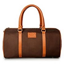 The Clownfish Matte Series Nylon 906 Cms Maroon Softsided Duffle Bag for Rs. 1,225