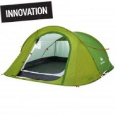 2 Seconds Easy Camping Tent, Sleeps 3 - Green for Rs. 3,799
