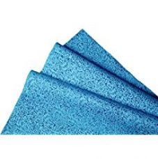 Buy Kimtech Lint free Multipurpose Wiping Cloth, Reusable, Large Size, 23.7 x 38.1 cm, Pack of 50, Blue, 60024 by Kimberly-Clark from Amazon
