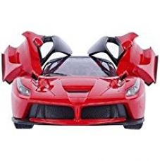 Buy Brunte Famous car 1:16 kids Red Racing openable door and remote controlled car from Amazon