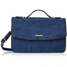 Buy Diana Korr Women's Sling Bag (Blue) (DK57SDBLU) from Amazon