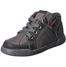 Clarks Boy's Grey Boots - 10 kids UK/India (28 EU) for Rs. 1,279