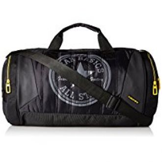 Buy Gear Polyester 44 cms Black and Yellow Travel Duffel (METDFPRO20112) from Amazon