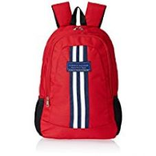 Buy Tommy Hilfiger Red Laptop Backpack (8903496064858) from Amazon