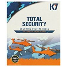 K7 Total Security - 1 PC, 1 Year(CD) for Rs. 530