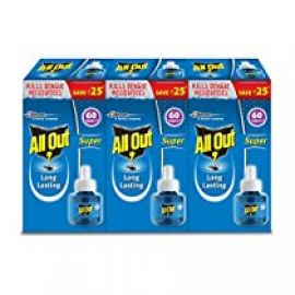 Buy All Out Refill (135 ml, Clear, 3-Pieces) from Amazon