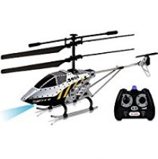 Buy Saffire 3.5 Channel Armour Helicopter with Gyro and Lights, Multi Color from Amazon