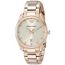 Buy Emporio Armani Analog Mother of Pearl Dial Women's Watch - AR6065 from Amazon