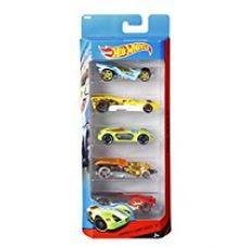Hot Wheels Five-car Gift Pack Assortment, Colors and Designs Might Vary for Rs. 332