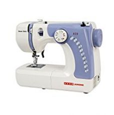 Usha Janome Dream Stitch Automatic Zig-Zag Electric Sewing Machine (White And Blue) for Rs. 7,298