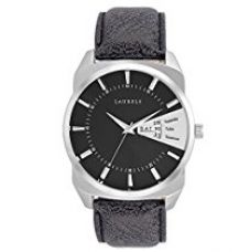 Buy Laurels Invictus 2 Day & Date Function Analog Black Dial Men's Watch - Lo-Inc-202 from Amazon