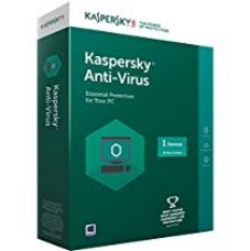 Kaspersky Anti-Virus Latest version - 1 PC, 3 Years (CD) (Chance to win Rs.1000 Amazon Gift voucher) for Rs. 669
