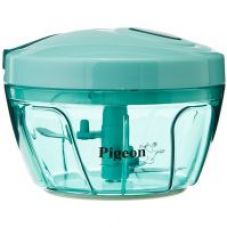 Pigeon Handy Chopper with 3 blades Green for Rs. 269