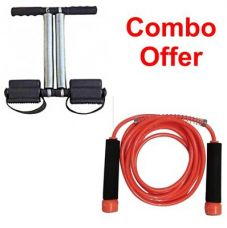 Flat 78% off on Deemark Tummy trimmer with New Skipping Rope Combo pack