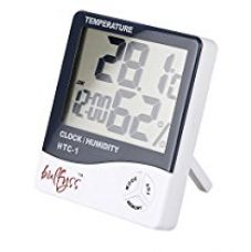 Bulfyss Digital Temperature, Humidity, Hygrometer and Alarm Clock for Rs. 396