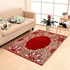 Buy Home Elite Ethnic Velvet Touch Abstract Chenille Carpet - 55